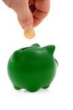 Sparungen und Geld Lizenzfreie Stockbilder