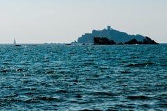 Sparviero-Inselansicht stockfotos