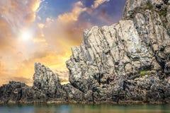 Sparviero Island, Tuscany Stock Image