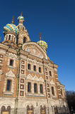 Spas na Krovi Cathedral Stock Image