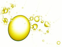 Spash abstrato da água Foto de Stock Royalty Free