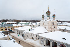 Spasky Spas na Torgu Cathedral in Rostov Veliky, Russia. Stock Photography