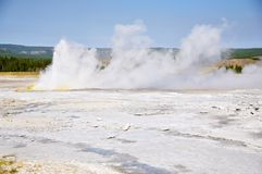 Spasm Geyser Royalty Free Stock Images