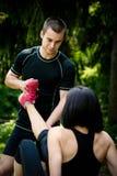 Spasmo - quando lo sport danneggia Fotografia Stock