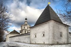 Spaso- Andronikov the monastery Stock Images