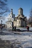 Spaso-Andronikov Monastery, Moscow Stock Image