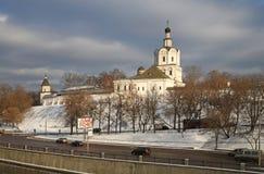 Spaso- Andronikov o monastério Fotos de Stock Royalty Free