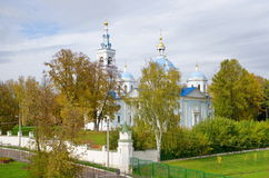 Spaso-Blachernae monastery in the village Dedenevo, Moscow region, Russia Stock Photo