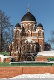 Spaso-Borodino Convent. Orthodox monastery on the Borodino field. royalty free stock photo
