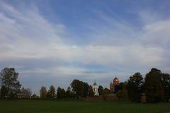 Spaso-Borodino klasztor Obrazy Royalty Free