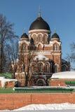 Spaso-Borodino kloster Ortodox kloster på det Borodino fältet royaltyfri foto