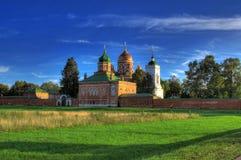Spaso-Borodinsky Monastery. The Spaso-Borodinsky Monastery in the Moscow region on the Borodino Field Royalty Free Stock Images