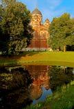 Spaso-Borodinsky monastery. Mozhaysk district, Russia Royalty Free Stock Photo