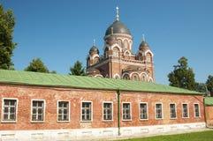 SPASO-BORODINSKY (Savior in Borodino)  convent Stock Images