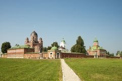 SPASO-BORODINSKY (Savior in Borodino)  convent Stock Photo