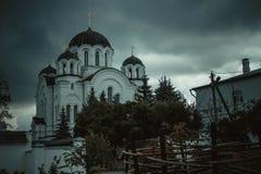 Spaso - Efrosinievsky修道院 库存照片