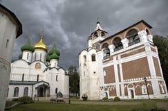 Spaso - Evfimevsky monastery. Suzdal Royalty Free Stock Photo