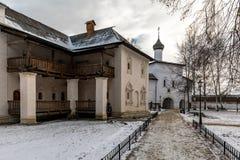 Spaso-Evfimiev μοναστήρι ατόμων ` s Annunciation εκκλησία Στοκ φωτογραφία με δικαίωμα ελεύθερης χρήσης