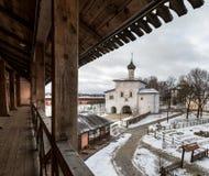 Spaso-Evfimiev μοναστήρι ατόμων ` s Annunciation εκκλησία Στοκ εικόνα με δικαίωμα ελεύθερης χρήσης