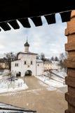 Spaso-Evfimievmänner ` s Kloster Moskau der Kreml Lizenzfreies Stockfoto