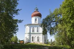 Spaso-Preobraženskij il monastero di Solovetsky Stavropegial sull'isola di Bolshoy Solovetsky nel mar Bianco Regione di Arcangelo immagine stock