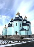 Spaso-Preobrazhenskiy cathedral Stock Photos