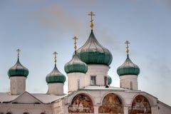 Spaso-Preobrazhenskiy cathedral Stock Photography
