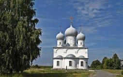 Spaso-Preobrazhensky Cathedral in Belozersk Royalty Free Stock Photography