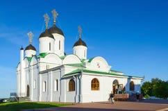 Spaso-Preobrazhensky Cathedral in Holy Transfiguration Monastery Royalty Free Stock Photography