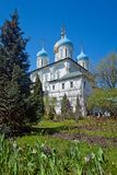 Spaso-Preobrazhensky Cathedral in Novospassky monastery. Moscow Stock Photography