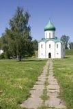 Spaso-Preobrazhensky Cathedral in Pereslavl. Russia stock image