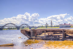 Spaso-Preobrazhensky Cathedral Rybinsk Royalty Free Stock Images