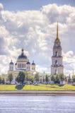 Spaso-Preobrazhensky Cathedral Rybinsk Royalty Free Stock Photos