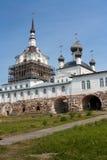Spaso-Preobrazhensky church in Solovki Stock Photos