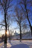 Spaso - Preobrazhensky domkyrka av det 16th århundradet Royaltyfri Bild