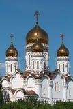 Spaso-Preobrazhensky domkyrka, Togliatti, Ryssland. Arkivfoton