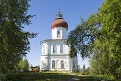 Spaso-Preobrazhensky the Solovetsky Stavropegial monastery on Bolshoy Solovetsky island in the White sea. Arkhangelsk region,. Russia stock image