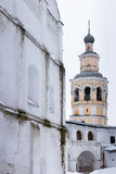 Spaso-Priluckiy monastery in winter. Vologda. Stock Images