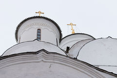 Spaso-Priluckiy monastery in winter. Vologda. Royalty Free Stock Images