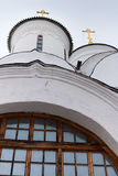 Spaso-Priluckiy monastery in winter. Vologda. Royalty Free Stock Photo