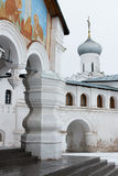 Spaso-Priluckiy monastery in winter. Vologda. Royalty Free Stock Photos