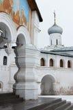 Spaso-Priluckiy monastery in winter. Vologda. Royalty Free Stock Photos