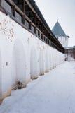 Spaso-Priluckiy monastery in winter. Vologda. Stock Image