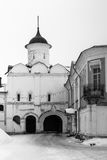 Spaso-Priluckiy monastery in winter. Vologda. Royalty Free Stock Photography