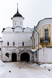 Spaso-Priluckiy monastery in winter. Vologda. Stock Images