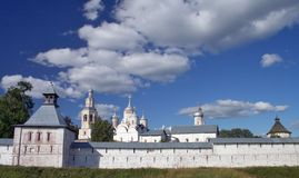Spaso-Prilutskii monastery. Near Vologda Royalty Free Stock Photos