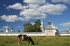 Spaso-Prilutskii monastery. Near Vologda Stock Photos