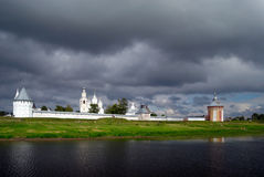 Spaso-prilutskiy monastery. View of the monastery from the river Royalty Free Stock Photo