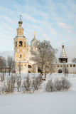 Spaso Prilutskiy monastery in Vologda Royalty Free Stock Images