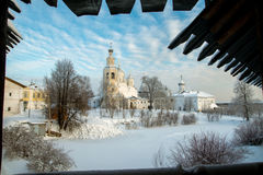 Spaso Prilutskiy monastery in Vologda Royalty Free Stock Photo